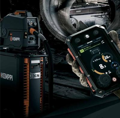Představujeme nové svařovací zařízení KEMPPI X8 MIG Welder